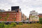 Ligne haute park chelsea, new york — Photo