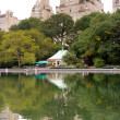 Conservatory Water, Central Park, New York — Stock Photo