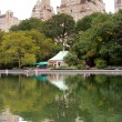 Conservatory Water, Central Park, New York — Stock Photo #18352337