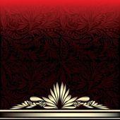 Golden vintage luxury (eps10) — Wektor stockowy
