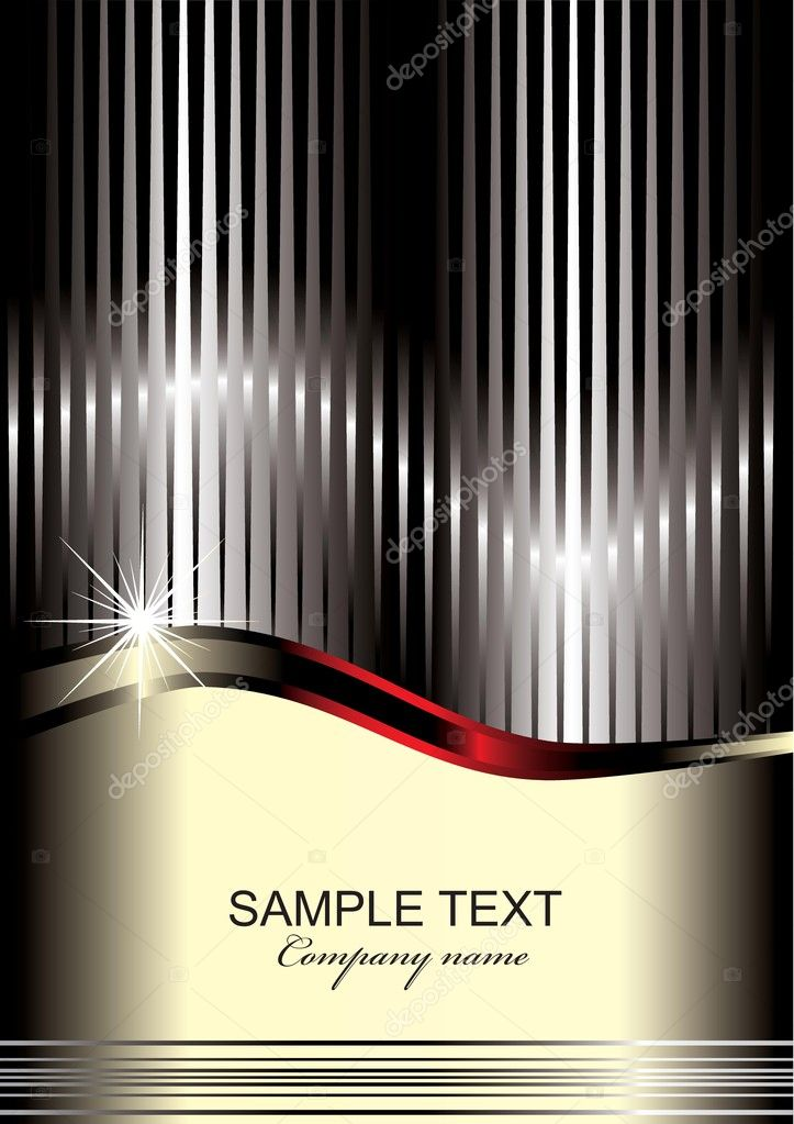 Elegant  background with place for text  Stock Vector #16277675