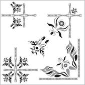 Calligraphic design and decorative elements (eps10) — Vector de stock