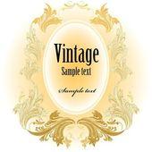 Vintage etikett, vektor illustration — Stockvektor