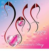 Happy valentine s day — Stock Vector