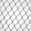 Stock Vector: Metal Fence