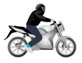 Vector Motorcycle — Stock Vector