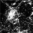 Broken cracked glass — 图库矢量图片