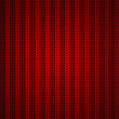Red Wool Texture — Stock Vector