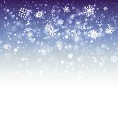 Winter Background - Illustration — Stock Vector