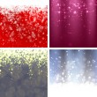 Set of Christmas Backgrounds — Stock Vector #36995513