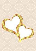 Telaio di nozze — Vettoriale Stock