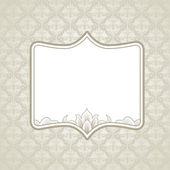 Wedding Frame — Stock Vector