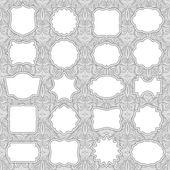 Ornate Frames — Stock Vector