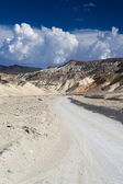 Road in the death valley national park — Stock Photo