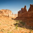 Arches national park — Stock fotografie