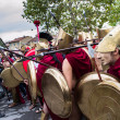 Постер, плакат: Group of dressed as Spartans
