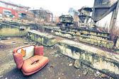 Eski sandalye — Stok fotoğraf