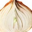 Golden onion - Stock Photo