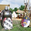 Постер, плакат: Medieval armour and weapons