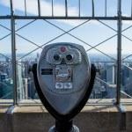 Telescope to observe the city — Stock Photo #30667613