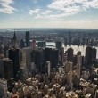 Stock Photo: Aereal view of new york city