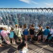 Stock Photo: People on empire state building