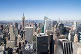 New york skyline — Stock Photo