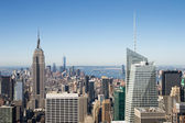 Skyline van new york — Stockfoto