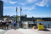 Water taxi — Stock Photo