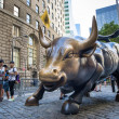 Charging bull of Wall street — Stock Photo #30983353