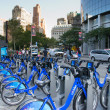 Citibike in new york — Stock Photo