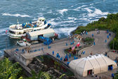 Maid of the mist tour — Stock Photo