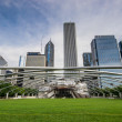 jay pritzker pavilion — Stock Photo #33559509