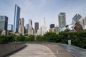 Chicago skyline — Stock Photo