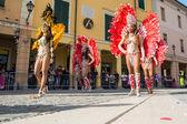 Bailarines brasileños — Foto de Stock