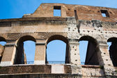 Detail of the coliseum — Stock Photo