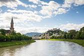 Salzburg Skyline — Stockfoto