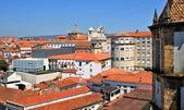コインブラの屋根の上の都市景観 — ストック写真