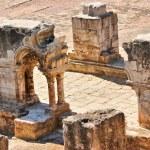 Cloister ruins of Santa Clara Velha in Coimbra — Stock Photo #12041364