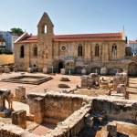 Monastery of Santa Clara Velha in Coimbra — Stock Photo #12041368