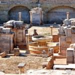 Cloister ruins of Santa Clara Velha in Coimbra — Stock Photo #12041381
