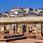 Cloister ruins of Santa Clara Velha in Coimbra — Stock Photo #12205901