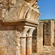 Cloister ruins of Santa Clara Velha in Coimbra — Stock Photo