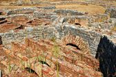 Roman baths ruins of Conimbriga — Stock Photo