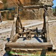 Catapult an ancient weapon of war - Stock Photo