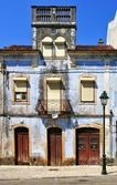 Old house in Miranda do Corvo — Stock Photo