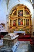 Chapel of the Visitation in Burgos Cathedral — Stock Photo