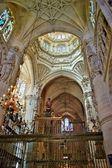 купол собора бургоса — Стоковое фото