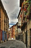 Old street of Vitoria — Stock Photo