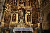 High altar of San Miguel church in Vitoria-Gasteiz — Stock Photo